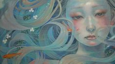 MIHO HIRANO on Pinterest | Chiba, Oil Paintings and Canvases