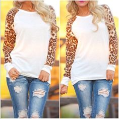 1 small left❗️Animal print top in Ivory Please do not purchase this listing. Comment with size and I will create a new listing for you. Small (2/4) Medium (6/8) Large (10/12) - Price is firm unless bundled. Tops