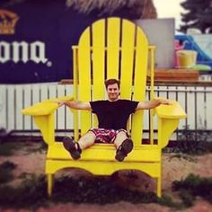 ...everything seems bigger in Canada! #leprechaun #feelingsmall #toronto #me #sitting #chair #bigchair #yellow #torontoisland #oversized #supersize #canada #canada #toronto #tourist #visittoronto #hellotoronto #seat #muskokachair #chairsofinstagram #instachair #sit #sitdown #little #littleme #small #instasmall #chairman #instalike #torontophoto Visit Toronto, Toronto Island, Toronto Photos, Canada Canada, Big Chair, Outdoor Chairs, Outdoor Decor, Leprechaun, Over The Years
