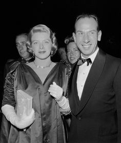 Rosemary Clooney and  husband Jose Ferrer out on the town, 1950s. A beautiful singer and a talent whom really was intelligent!