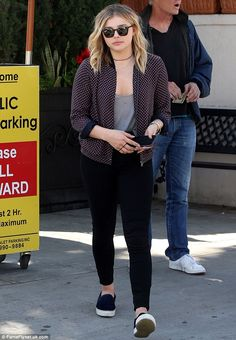 Eat up! Chloë Grace Moretz, 19, enjoyed lunch at Il Pastaio Beverly Hills...