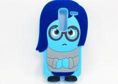 Guili Guili Fundas y Accesorios Para Smartphone y Celulares: Funda Silicon Lg Zero Tristeza Intensamente Goma Suave - Kichink!