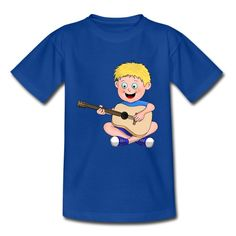 Der süße Junge liebt Musik und lernt gerade Gitarre spielen. Ein lustiges Comic Cartoon T-Shirt Geschenk für Kinder und Jungs, die gerne Singen und Gitarre spielen. Comics Und Cartoons, Book Value, Comic Books, Humor, Boys, Fictional Characters, Sport, Playing Guitar, Funny Cartoons