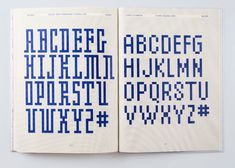 Experimental Type, Anniversary Logo, Type I, Fonts, Typography, Coding, Teaching, Knitting, Inspiration