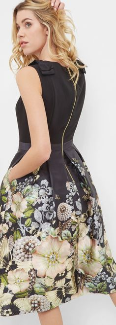 @roressclothes clothing ideas #women fashion Ted Baker Gem Dress