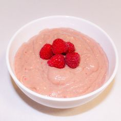 Yum! Try this delicious and healthy dessert. Pop into a blender: 1.5 cups mixture of strawberries and raspberries, 1/2 avocado, 2 small frozen bananas, 2 Tablespoons coconut milk or cream. It's that simple! Add desiccated coconut for more texture. Thanks @charliesfruitonline for the most delicious berries, avocado and bananas!