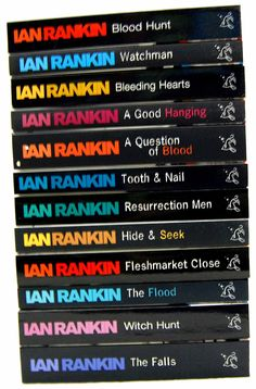 Ian Rankin is a true literary genius, his books are fantastic & his characters are truly believeable. Love him!!