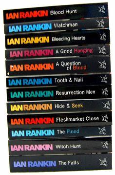 Love, love, love all of Ian Rankin's Rebus novels. Scottish, tortured, gritty, brutal.