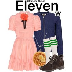 Outfit Inspired by Millie Bobby Brown as Eleven on Stranger Things
