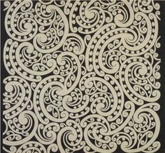 Nice pattern by Kowhaiwhai. Hawaiian Tribal Tattoos, Samoan Tribal Tattoos, Thai Tattoo, Maori Tattoos, Chris Garver, Maori Designs, Tribal Tattoo Designs, Foo Dog, Art Maori