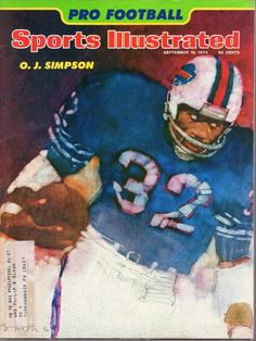 1974 (Sep. 16) Sports Illustrated magazine, O.J. Simpson, Buffalo Bills ~ VG | eBay