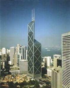 20/BANK OF CHINA TOWER/367 metros/Terminado en 1990/HONG KONG-CHINA