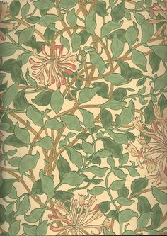 William Morris: Honeysuckle