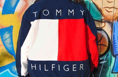 4c9f894d 1990s Big Logo Reversible Tommy Hilfiger Jacket. Vintage Tommy Hilfiger  Jackets, 1990s, 90s Fashion. Hella Thrifty