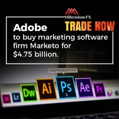 Millennium-FX - A New Millennium For Trading Photoshop Cloud, Marketing Software, Financial News, Flexibility, Thursday, Adobe, Investing, Management, Digital