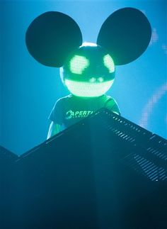 Another image of Deadmau5. With the right education,work, and effort i will be just as good as him. this is another part in my mastery. Image taken from AP Image Collection EBSCOHOST