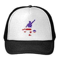 USA soccer trucker hat