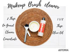 Do your makeup brushes need some love? Clean them up with this quick and easy recipe!