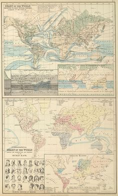 world physical features by peacay, via Flickr