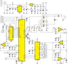 Un oscilloscope pour PC avec interface USB ~ Genie Electronique Schema