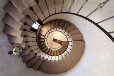 Spiral staircase by Glenn Nagel
