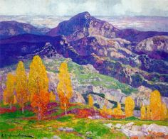 The ~ Artworks of Hermen Anglada Camarasa and containing the word hermen anglada camarasa, Spanish Painters, Spanish Artists, Landscape Art, Landscape Paintings, Landscapes, Great Paintings, Inspiration Art, Mark Rothko, Art Nouveau