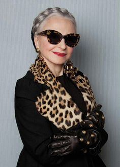 The Spectacular Women of 'Advanced Style' Model for Karen Walker