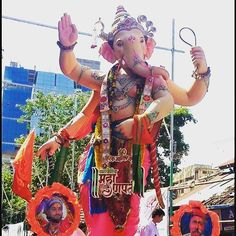 New pin for Ganpati Festival 2015 is created by by mumbai_ganesha with…
