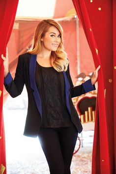 Be fearless in #fashion, like this black and navy combo. #LCLaurenConrad #Kohls