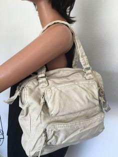 Converse One Star Bag Designer Fashion Hip Multi Pockets Boho Beige #ConverseOneStar #Hobo