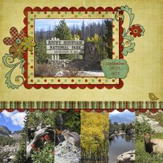scrapbooking Rocky Mountain National Park - Google Search