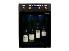 Vinotemp's state-of-the-art 4 Bottle Wine Dispenser easily dispenses, preserves and chills four bottles of red or white wine. Built In Wine Refrigerator, Wine Fridge, Wine Display, Bottle Display, Wine Dispenser, Perfect Glass, Expensive Wine, Wine Chiller, Wine Coolers