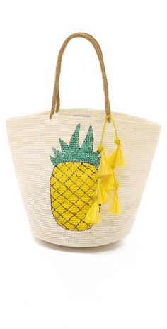 Sensi Studio Pineapple Tote