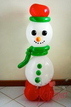 Navidad globos Christmas balloons Kokoro Fiestas
