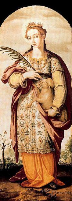 フランシスコ・パチェーコ、「聖アグネス」St. Agnes