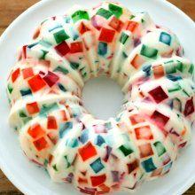 8 tips para que prepares las gelatinas mosaico perfectas Xmas Food, Doughnut, Food Art, Low Carb, Keto, Tasty, Baking, Healthy, Xmas Recipes
