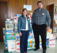 OSV Huntington (IN) employees donated for a good cause!