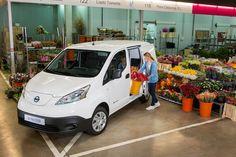 Nissan e-NV200, furgone elettrico, autovettura a sette posti e taxi