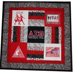 A beautiful quilt celebrating the great Red and White. NOTE: This link does not work.