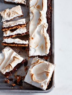Sheet pan s'mores - yes, please.