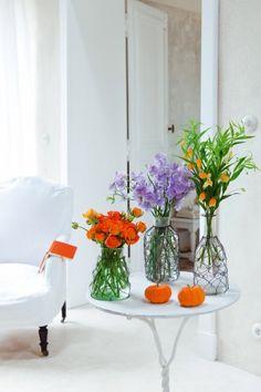 Des vases habillés de fil de fer - Marie Claire Idées