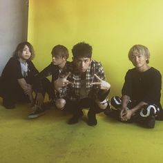 We had a photo shoot in LA!!! @oneokrockofficial