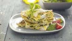 Menu Ideas for a Low-Carb Breakfast: Make a vegetable frittata and then freeze or refrigerate servings to pull out and microwave.