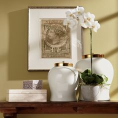 Interior Design Trends 2014: Gold. Ivory Lidded Jar - Ethan Allen US