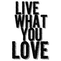 Quadro - Live What You Love - Decohouse