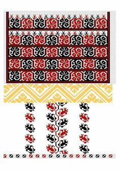 Moldova, Costumes, Detail, Flowers, Cards, Model, Towels, Cross Stitch, Embroidered Dresses