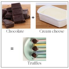 2-ingredient recipes - chocolate truffles