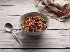 Simple warming up winter couscous for vegans