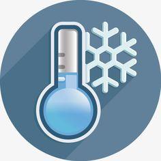низкая температура, прогноз погоды, метеорологическая значокPNG и вектор