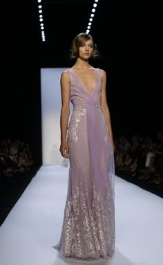 "Definitive Proof ""Games Of Thrones"" Style Has Infiltrated Fashion Week Badgley Mischka Spring/Summer 2014"